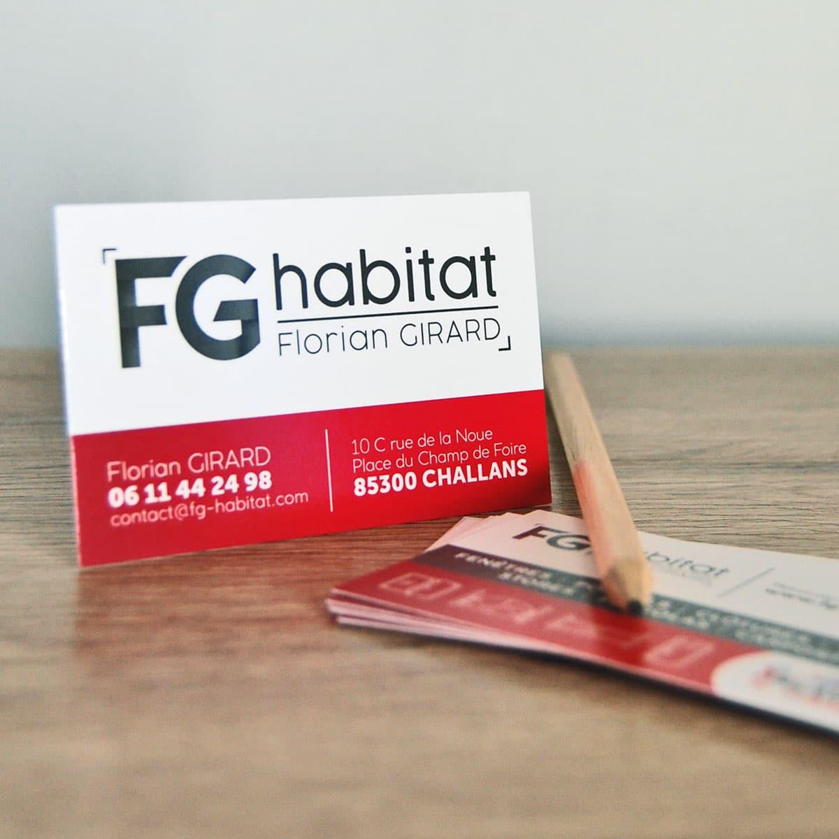 Carte de visite - FG Habitat - Challans