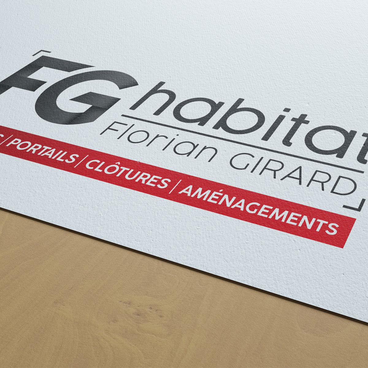 Création de logo à Challans pour FG Habitat