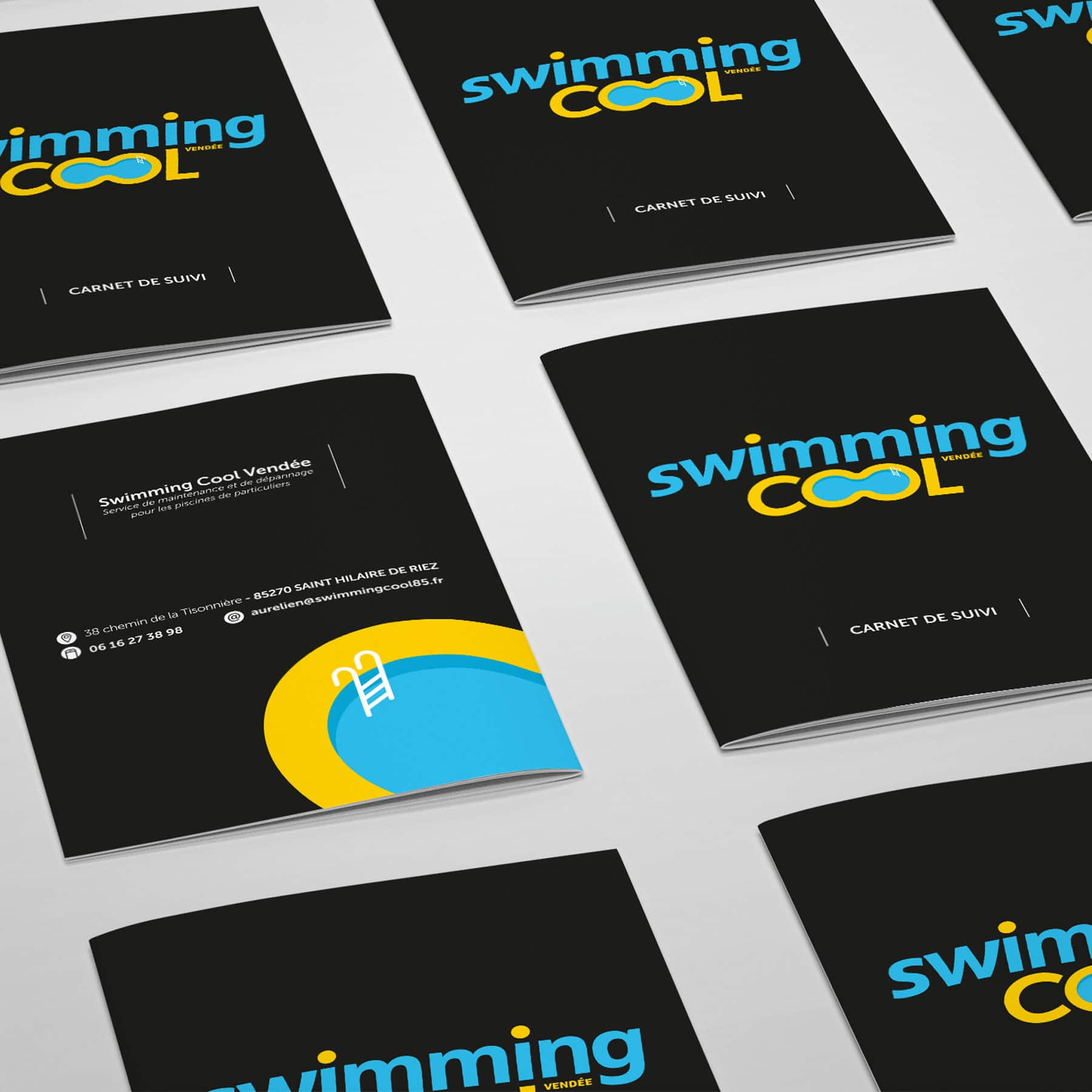Impression de brochure à Sallertaine pour Swimming Cool