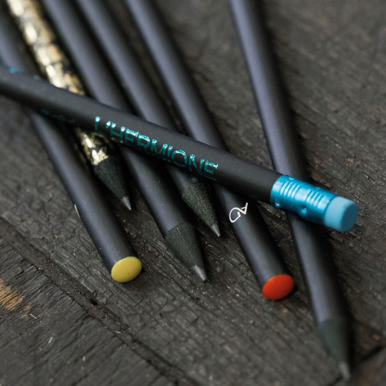 Crayon de bois personnalisé